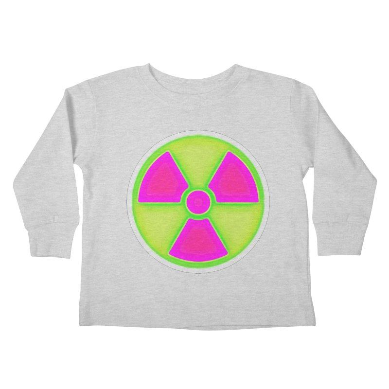 Nu-clear Kids Toddler Longsleeve T-Shirt by 7thSin Apparel