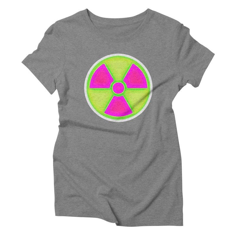 Nu-clear Women's Triblend T-Shirt by 7thSin Apparel
