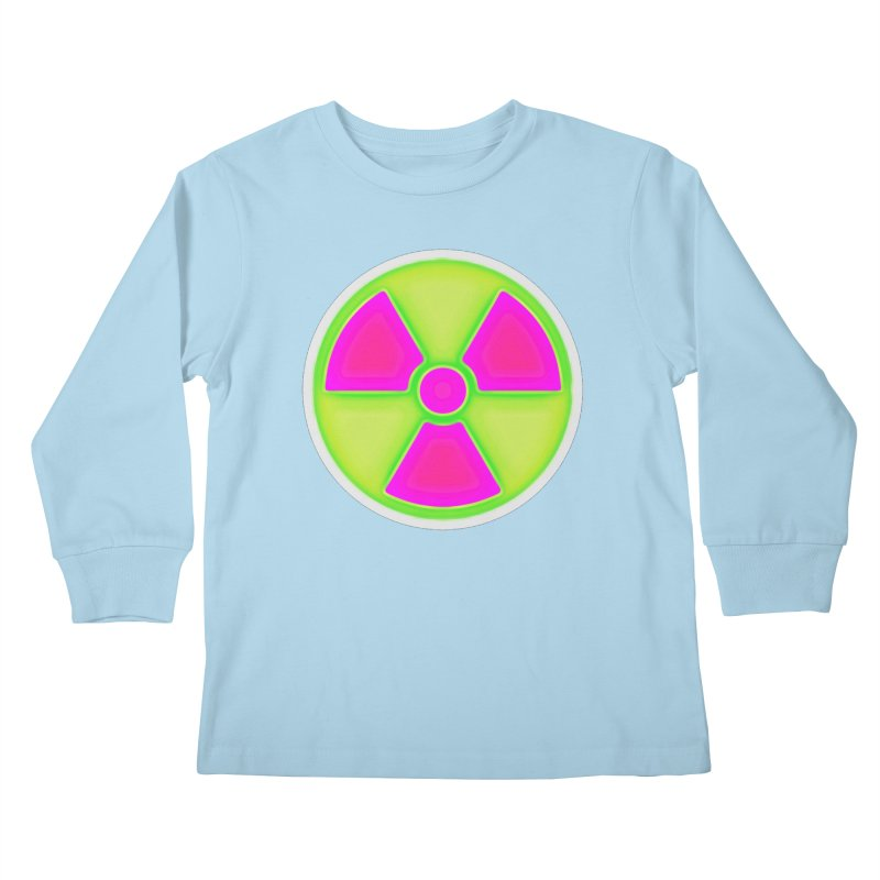 Nu-clear Kids Longsleeve T-Shirt by 7thSin Apparel