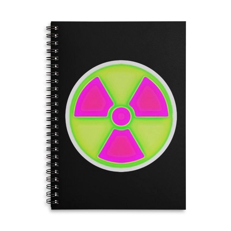 Nu-clear Accessories Lined Spiral Notebook by 7thSin Apparel