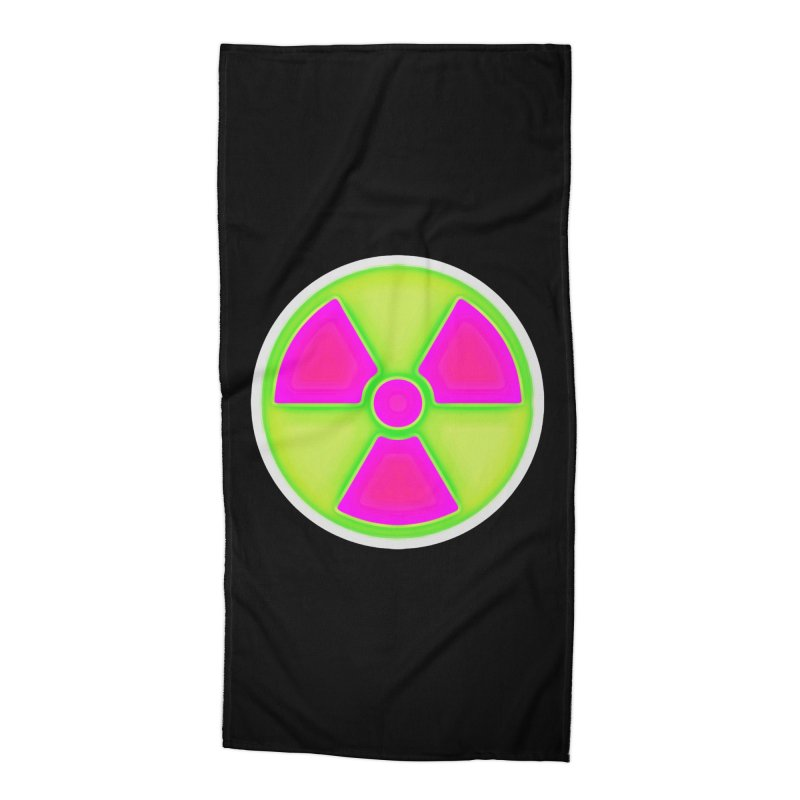 Nu-clear Accessories Beach Towel by 7thSin Apparel