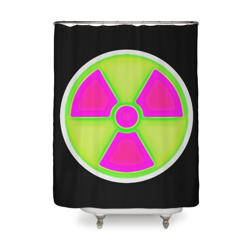 Nu-clear Home Shower Curtain by 7thSin Apparel