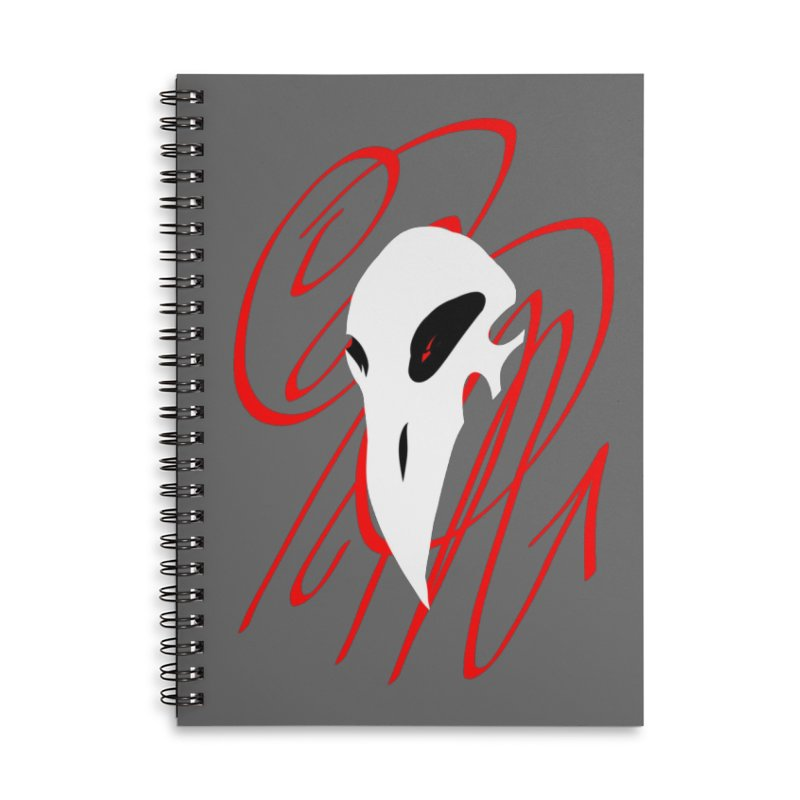 OPM Bleach Accessories Lined Spiral Notebook by 7thSin Apparel