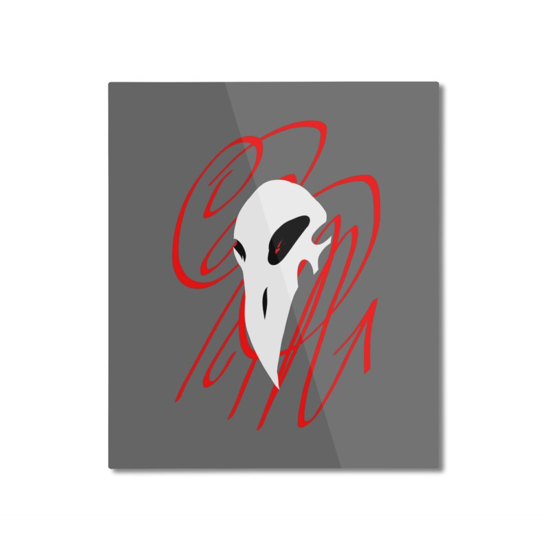 OPM Bleach Home Mounted Aluminum Print by 7thSin Apparel