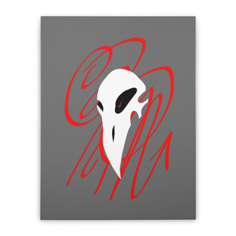 OPM Bleach Home Stretched Canvas by 7thSin Apparel