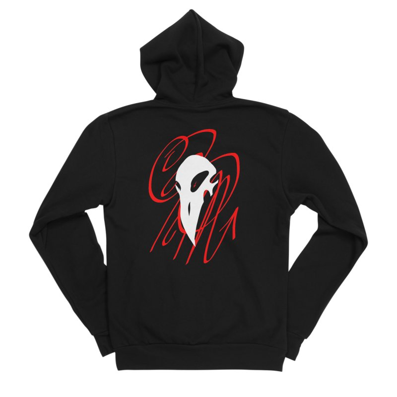 OPM Bleach Men's Sponge Fleece Zip-Up Hoody by 7thSin Apparel