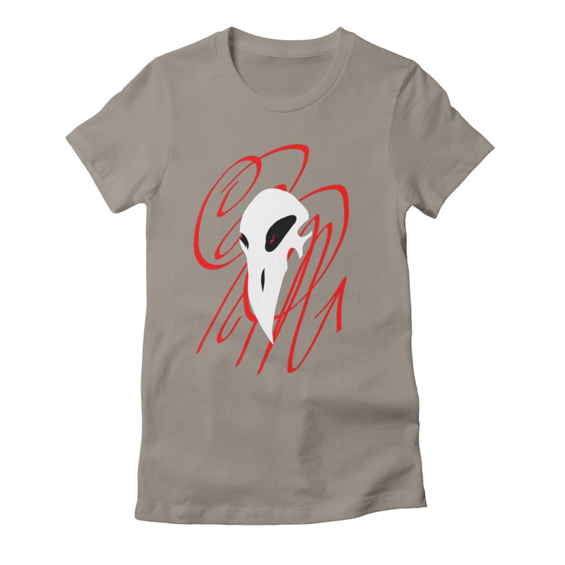 OPM Bleach Women's Fitted T-Shirt by 7thSin Apparel