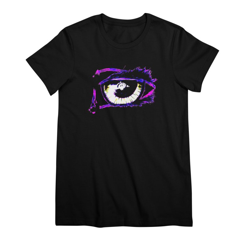 Dayglo Spy Women's Premium T-Shirt by 7thSin Apparel