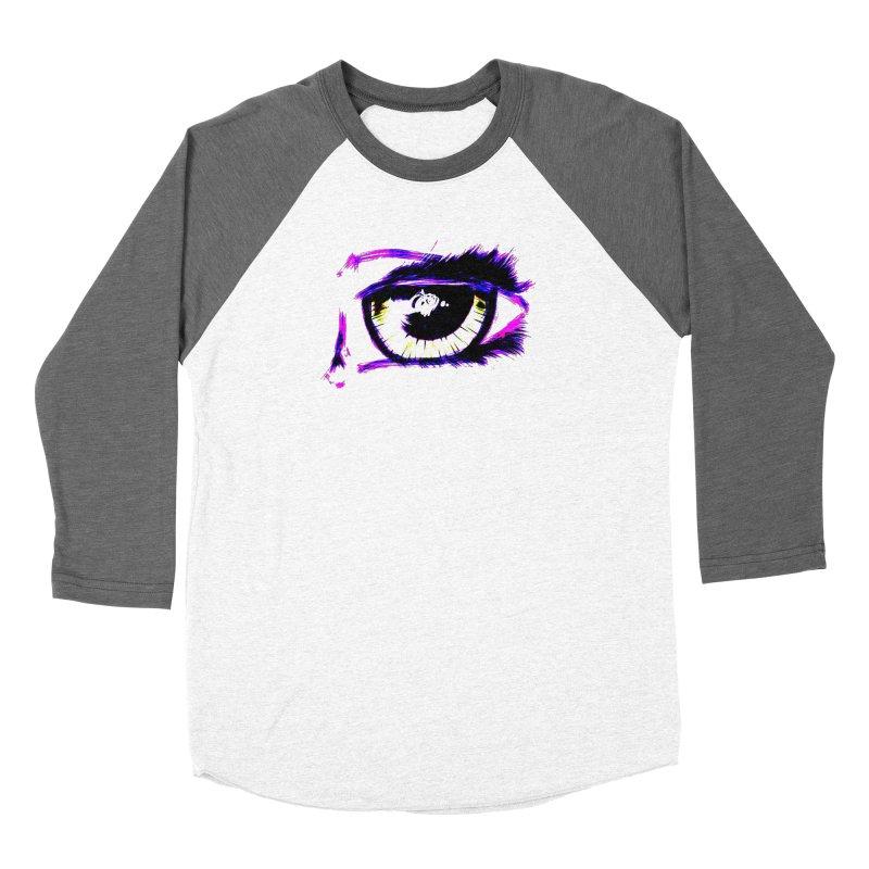 Dayglo Spy Men's Baseball Triblend Longsleeve T-Shirt by 7thSin Apparel