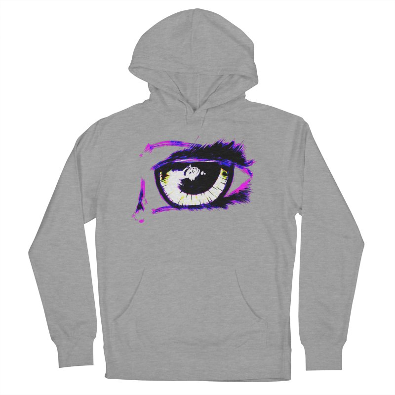 Dayglo Spy Women's French Terry Pullover Hoody by 7thSin Apparel