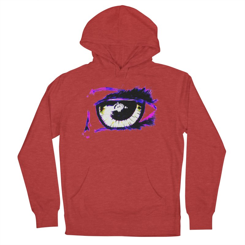 Dayglo Spy Men's French Terry Pullover Hoody by 7thSin Apparel