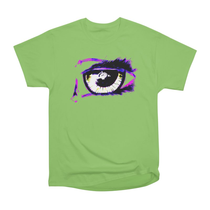 Dayglo Spy Men's Heavyweight T-Shirt by 7thSin Apparel