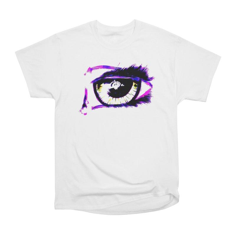Dayglo Spy Women's Heavyweight Unisex T-Shirt by 7thSin Apparel