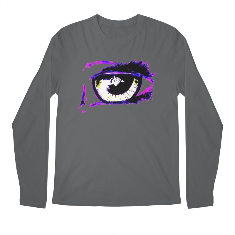 Dayglo Spy Men's Regular Longsleeve T-Shirt by 7thSin Apparel
