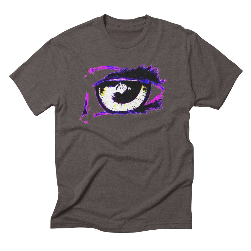 Dayglo Spy Men's Triblend T-Shirt by 7thSin Apparel