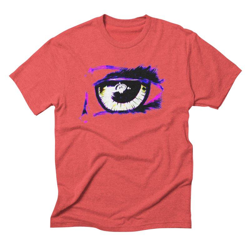 Dayglo Spy Men's Triblend T-Shirt by 7thSin Apparel