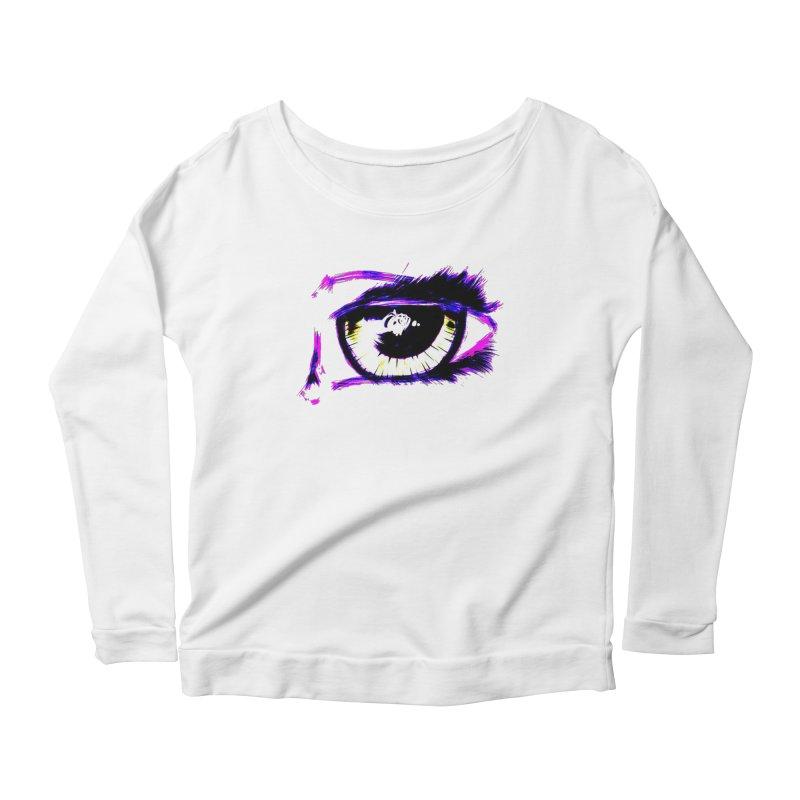 Dayglo Spy Women's Scoop Neck Longsleeve T-Shirt by 7thSin Apparel