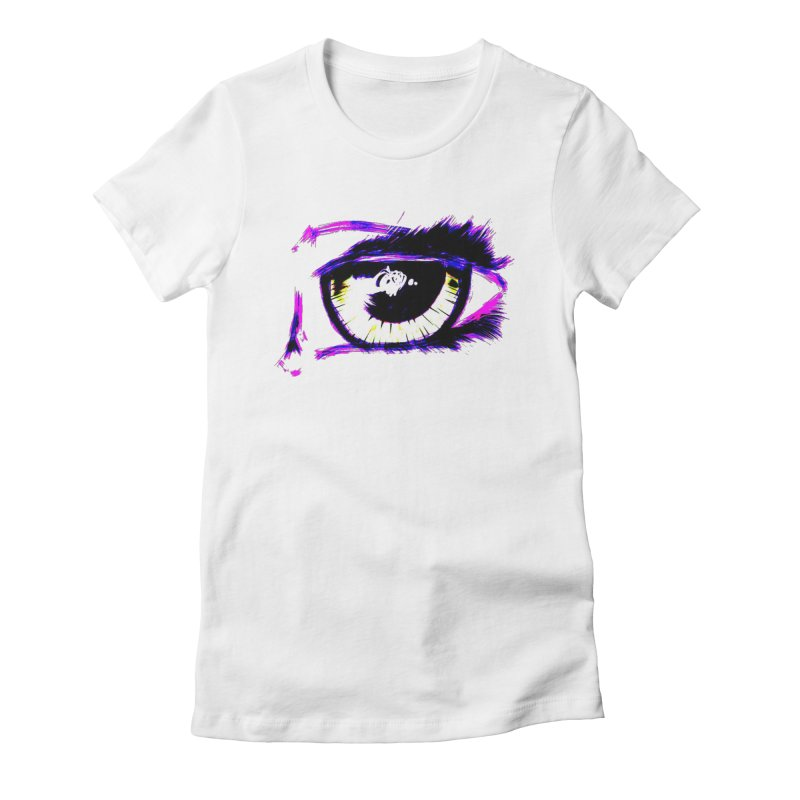Dayglo Spy Women's Fitted T-Shirt by 7thSin Apparel