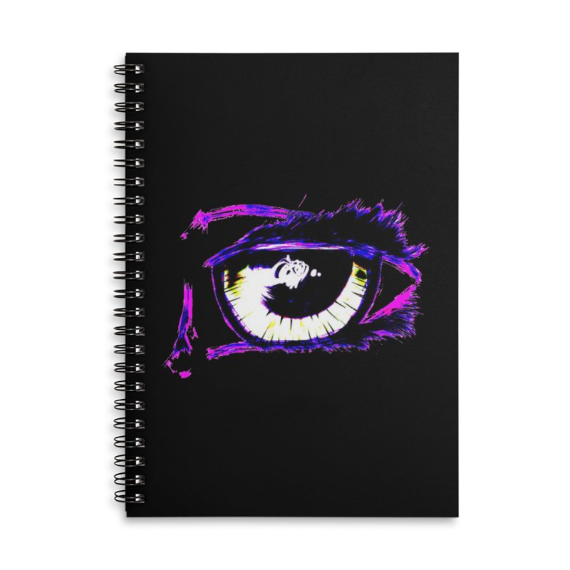 Dayglo Spy Accessories Lined Spiral Notebook by 7thSin Apparel