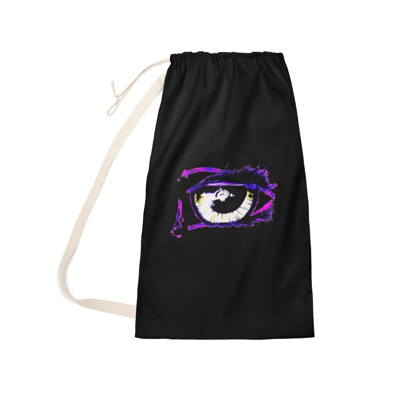 Dayglo Spy Accessories Laundry Bag Bag by 7thSin Apparel