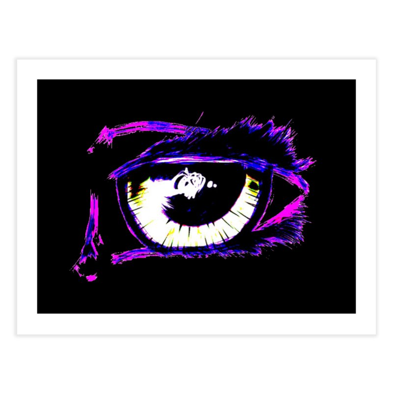 Dayglo Spy Home Fine Art Print by 7thSin Apparel