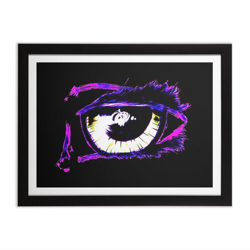 Dayglo Spy Home Framed Fine Art Print by 7thSin Apparel