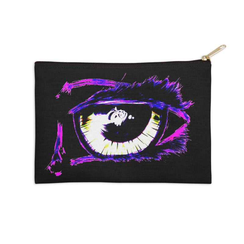 Dayglo Spy Accessories Zip Pouch by 7thSin Apparel