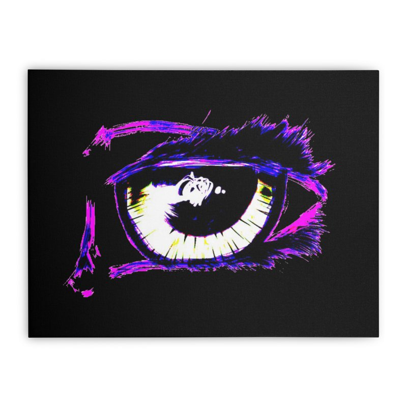 Dayglo Spy Home Stretched Canvas by 7thSin Apparel