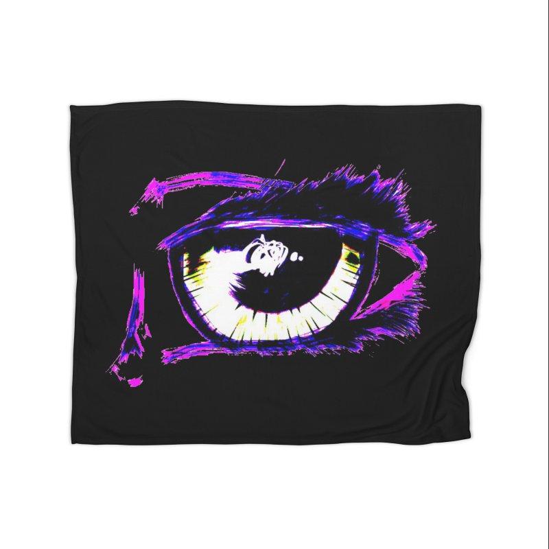 Dayglo Spy Home Fleece Blanket Blanket by 7thSin Apparel
