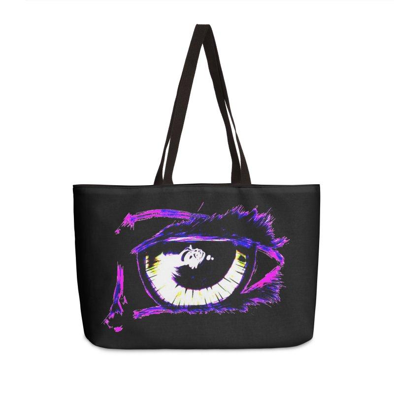 Dayglo Spy Accessories Weekender Bag Bag by 7thSin Apparel