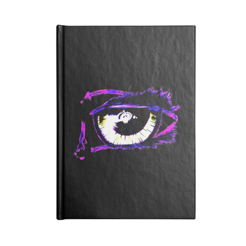 Dayglo Spy Accessories Lined Journal Notebook by 7thSin Apparel