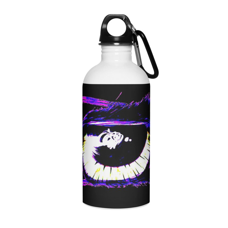 Dayglo Spy Accessories Water Bottle by 7thSin Apparel