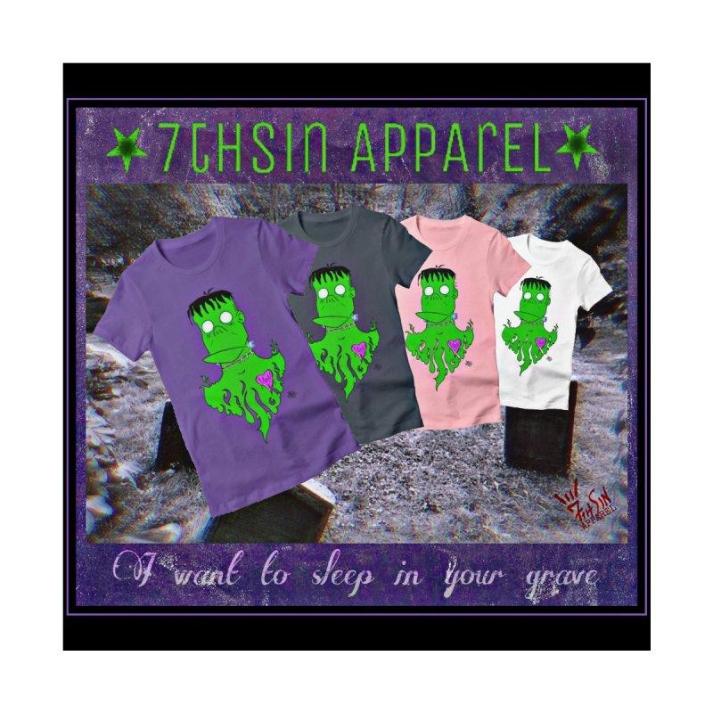 Frank-O Women's Longsleeve T-Shirt by 7thSin Apparel
