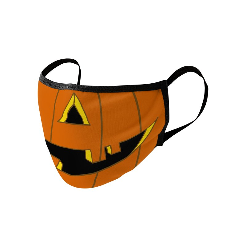 Jack-O Accessories Face Mask by 7thSin Apparel