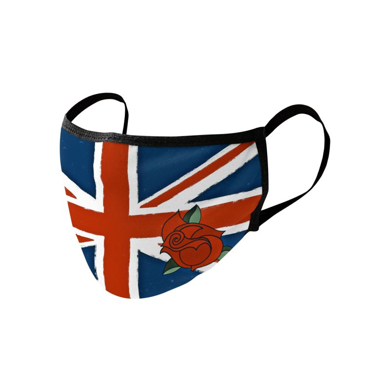 Union Jack Accessories Face Mask by 7thSin Apparel