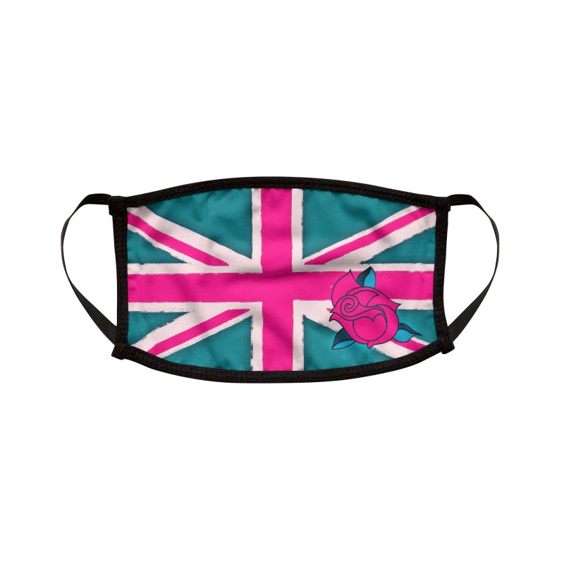 Union Jackie Accessories Face Mask by 7thSin Apparel