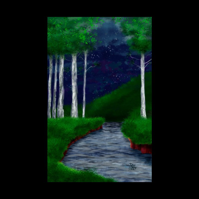 A shallow place to rest Home Stretched Canvas by 7thSin Apparel