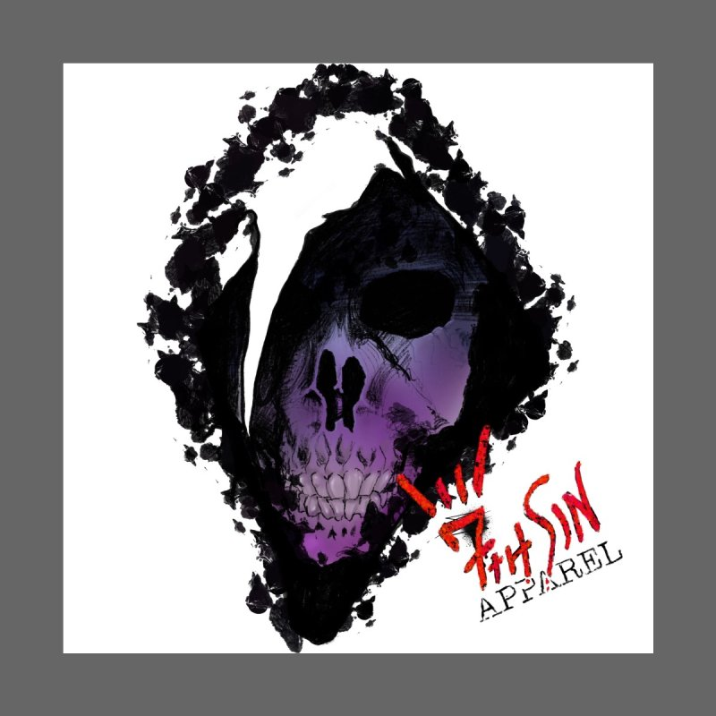 Deth Home Stretched Canvas by 7thSin Apparel