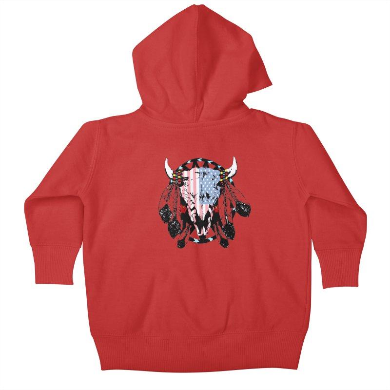 Buffalo Tom Kids Baby Zip-Up Hoody by 7thSin Apparel