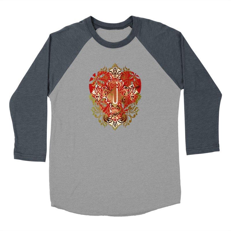 Gothic Red Men's Baseball Triblend Longsleeve T-Shirt by 7thSin Apparel