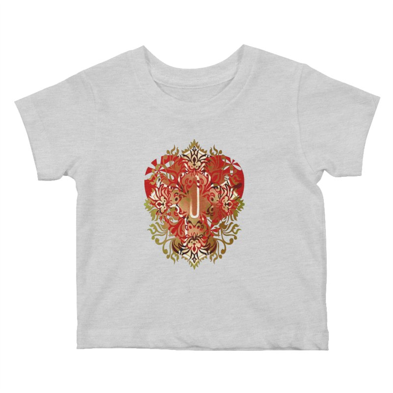 Gothic Red Kids Baby T-Shirt by 7thSin Apparel