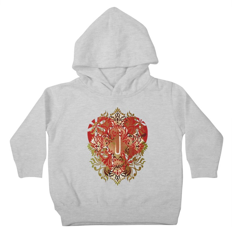 Gothic Red Kids Toddler Pullover Hoody by 7thSin Apparel