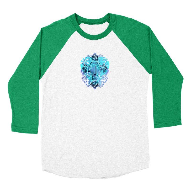 Gothic Blue Men's Baseball Triblend Longsleeve T-Shirt by 7thSin Apparel