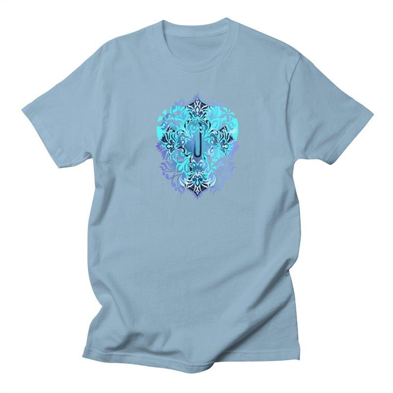 Gothic Blue Men's Regular T-Shirt by 7thSin Apparel