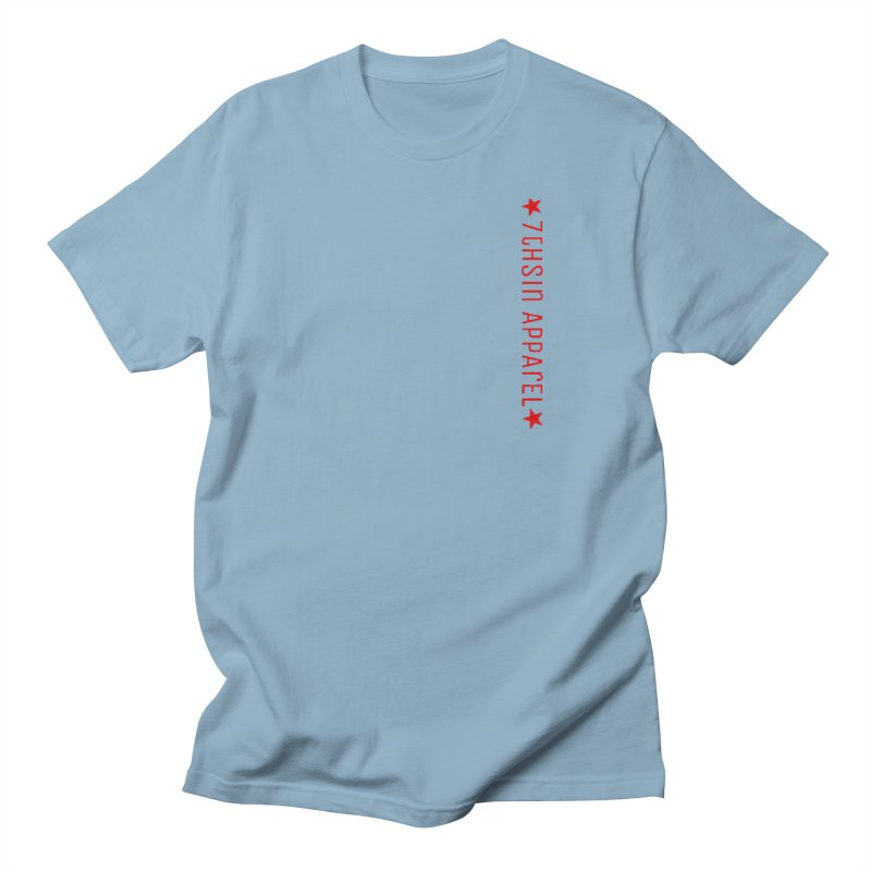 7thSin RedLine Men's Regular T-Shirt by 7thSin Apparel