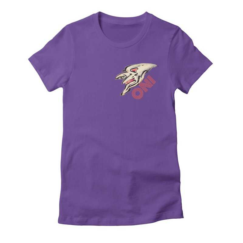 Oni Women's Fitted T-Shirt by 7thSin Apparel