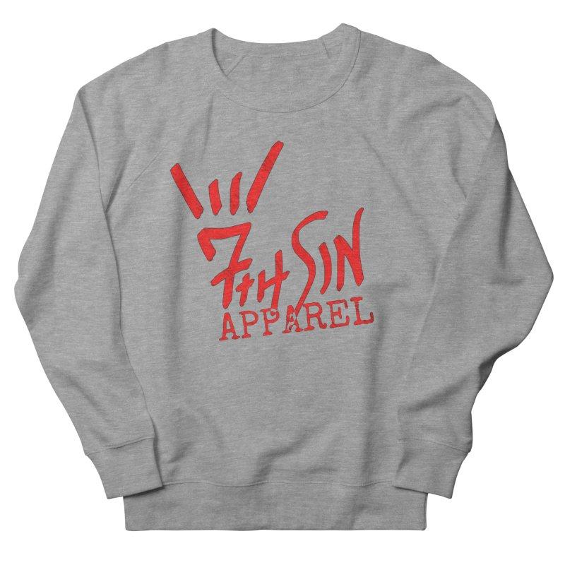 7thSin Hell Yeah Logo Women's French Terry Sweatshirt by 7thSin Apparel