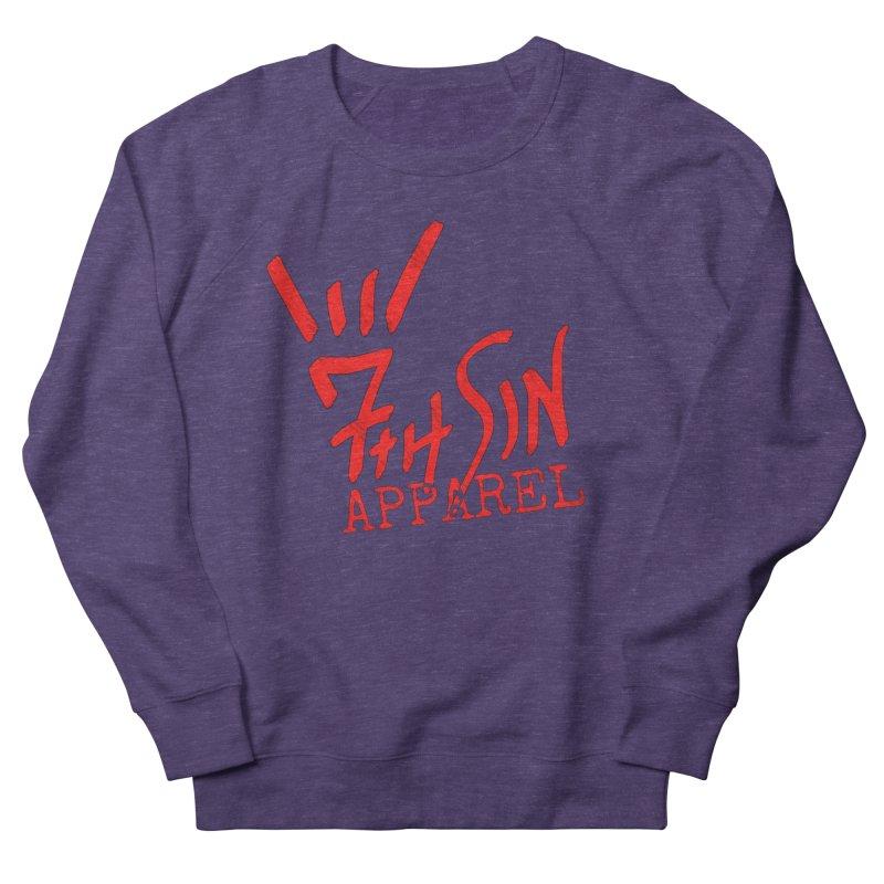 7thSin Hell Yeah Logo Men's French Terry Sweatshirt by 7thSin Apparel