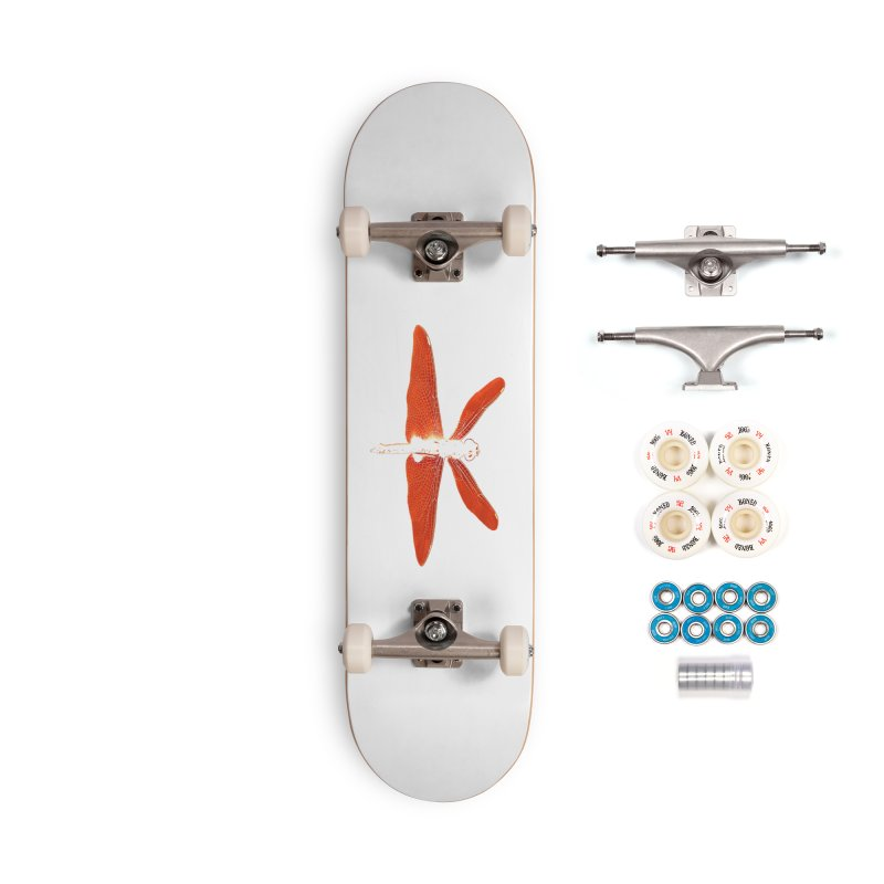 Dragonfly (Orange) Accessories Complete - Premium Skateboard by 7thSin Apparel
