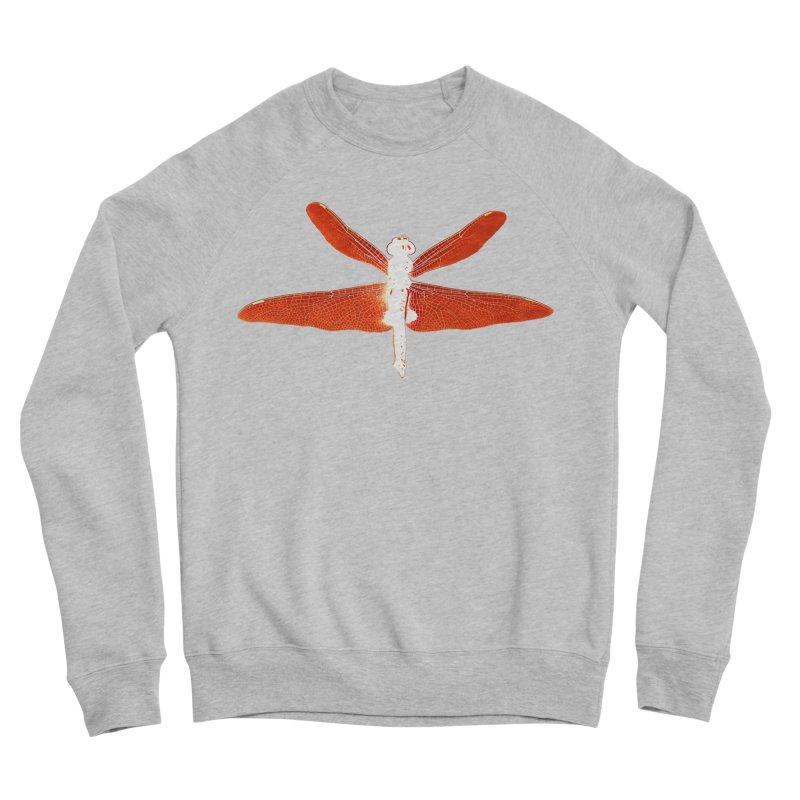 Dragonfly (Orange) Women's Sponge Fleece Sweatshirt by 7thSin Apparel